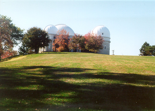 New 1912 Allegheny Observatory Building