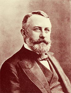 Photographic portrait  of Henry Clay Frick.