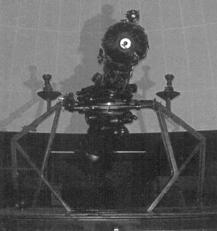 Photo: Zeiss II Planetarium Projector in Theater of the Stars of the original Buhl Planetarium in Pittsburgh