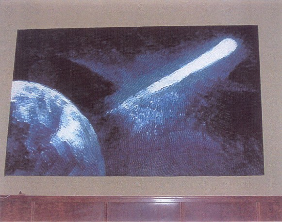 Image of painting of Comet Halley